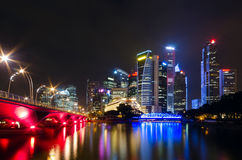 Night view of the city Royalty Free Stock Images