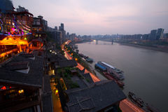 Night view of city,chongqing,china Royalty Free Stock Photography