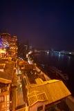 Night view of city,chongqing,china Stock Photography