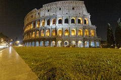 Night view of Colosseo Stock Photography