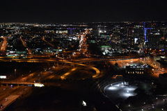 Night view of Dallas, Texas Royalty Free Stock Photo