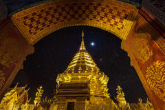 Night view Doi Suthep Stock Photos