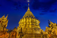 Night view Doi Suthep Stock Images