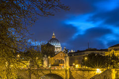 Night view of the dome Royalty Free Stock Photos