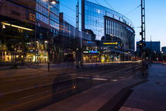Night view of Dresden Stock Photo