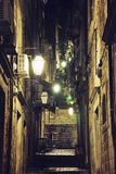 Night view of Dubrovnik Royalty Free Stock Image