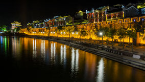 Night view of Fenghuang, China Royalty Free Stock Image