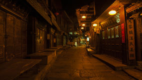 Night view of Fenghuang, China Stock Images