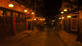Night view of Fenghuang, China Stock Photos