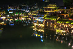 Night view of fenghuang Royalty Free Stock Photography