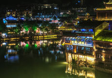 Night view of fenghuang Stock Image