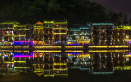 Night view of fenghuang Royalty Free Stock Photos