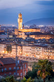Night view of Florence Royalty Free Stock Photo