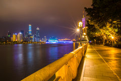 Night view at Guangzhou Royalty Free Stock Images