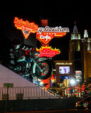 Harley Davidson Restaurant Las Vegas, NV Royalty Free Stock Images