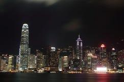 Night view of hong kong Royalty Free Stock Photo