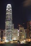 Night view of hong kong Royalty Free Stock Photos