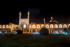 Night view of Imam square Stock Photography