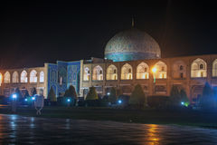 Night view of Imam square Stock Photos