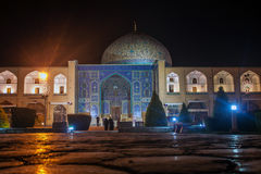 Night view of Imam square Royalty Free Stock Photography
