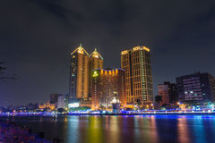 Night view of Kaohsiung Royalty Free Stock Image