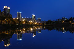 Night view of Kaohsiung Stock Image