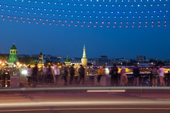 Night view of the Kremlin, Russia, Moscow Stock Photo