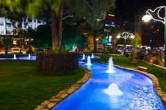 Night view of Kusadasi Turkey Stock Photos