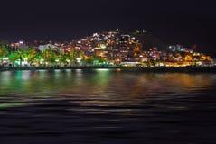 Night view of Kusadasi Turkey Royalty Free Stock Photos