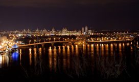 Night view of Kyiv Royalty Free Stock Image