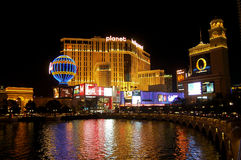 Night view Las Vagas Stock Images