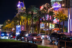Night view of Las Vegas. Stock Images