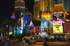Night view of Las Vegas. Stock Photo