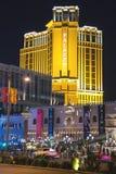 Night view of Las Vegas. Royalty Free Stock Image