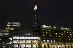 Night view of London Bridge Hospital Stock Photography
