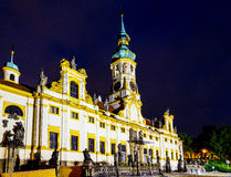 Night view of Loreta Facade Royalty Free Stock Images