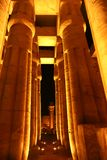 Luxor Temple - Egypt. Night view of Luxor Temple with night lights, Egypt Royalty Free Stock Photography