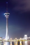 Night view in Macau. Stock Photos