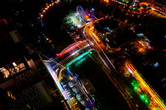 Night view of malacca, malaysia Royalty Free Stock Photography