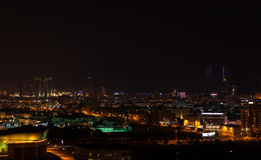 Night view of Manama city, Bahrain Royalty Free Stock Photo