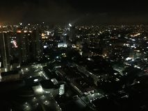 Night view of Manila& x27;s. Night view of Manila Stock Photography
