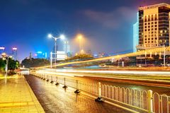 City night scene Royalty Free Stock Image