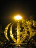 Night view Monument emblem of Iran, word Allah, Yazd,. Night view Monument emblem of Iran, word Allah, Yazd Iran Stock Photos