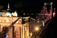Night-view of Monuments - Daxi Bridge stock photos