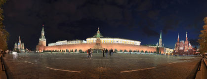 Night view of Moscow Stock Image