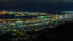 Night view at Nagasaki Prefecture Stock Image
