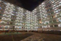 Night view of Nam Shan Estate Stock Image