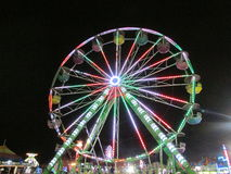 Night view of North Brunswick Youth Sports Festival in NJ. USA. Г. Royalty Free Stock Photos