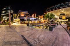 Free Night View Of Iulius Town, A City In A City, Timisoara, Romania Stock Photography - 161353622
