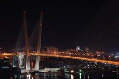 Free Night View Of The Bridge In The Russian Vladivostok Stock Photos - 28491403